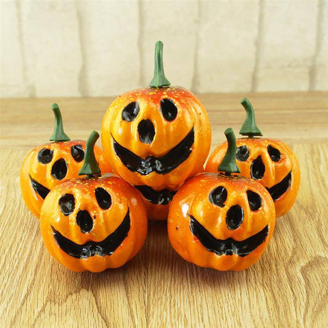 Image of 6pcs Artificial Pumpkins