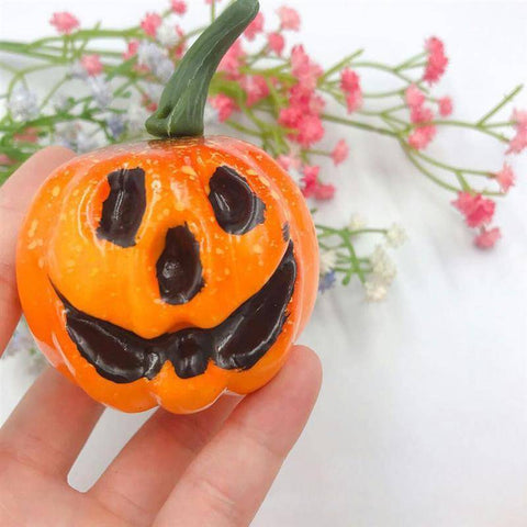6pcs Artificial Pumpkins