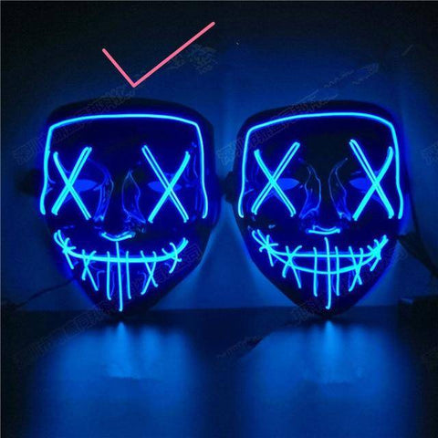 Image of LED Light Up Mask