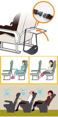Image of Adjustable Travel Foot Rest