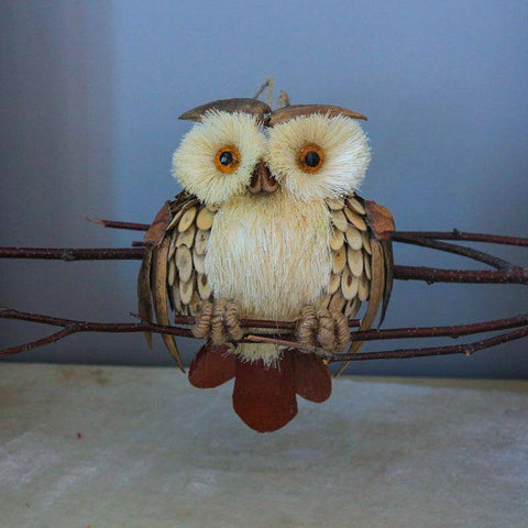 Image of Hanging Owl Decor