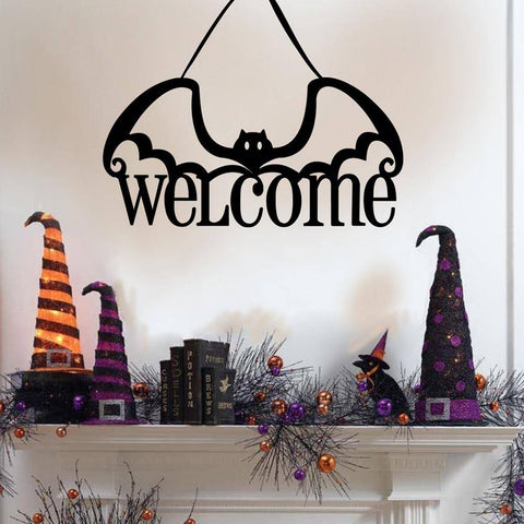 Welcome Halloween Sign