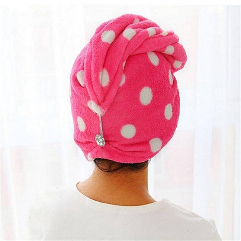 Quick Dry Bath Twist Drying Turban