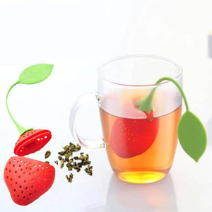 Silicone Strawberry Tea Infuser