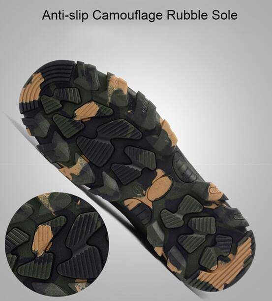 Indestructible Military Battlefield Safety Shoes
