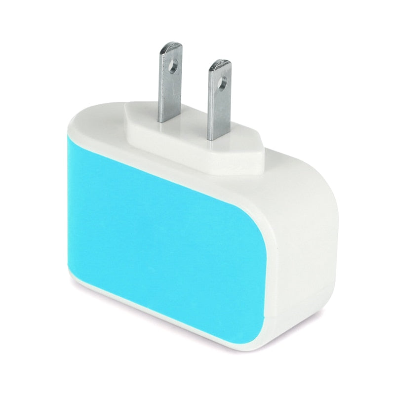USB Wall Plug Charging Station
