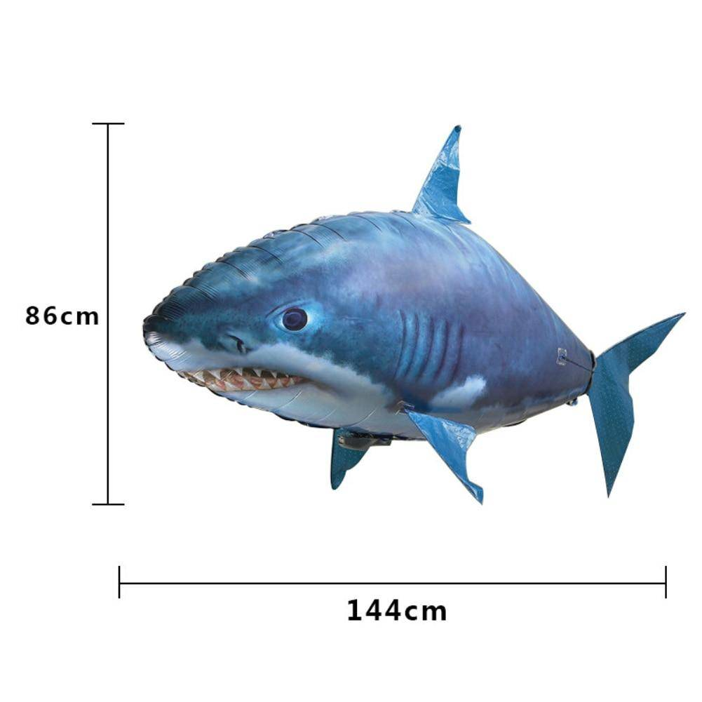 Remote Control Inflatable Swimming Shark