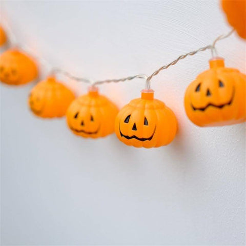 Image of 10 LED Pumpkin Lights