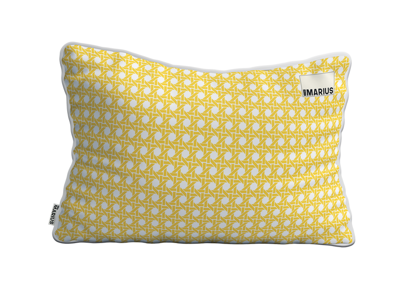 Coussin CANNAGE Mimosa 40x60 cm