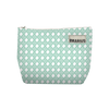 Trousse rectangle PIED DE COQ Bleu 16x23 cm