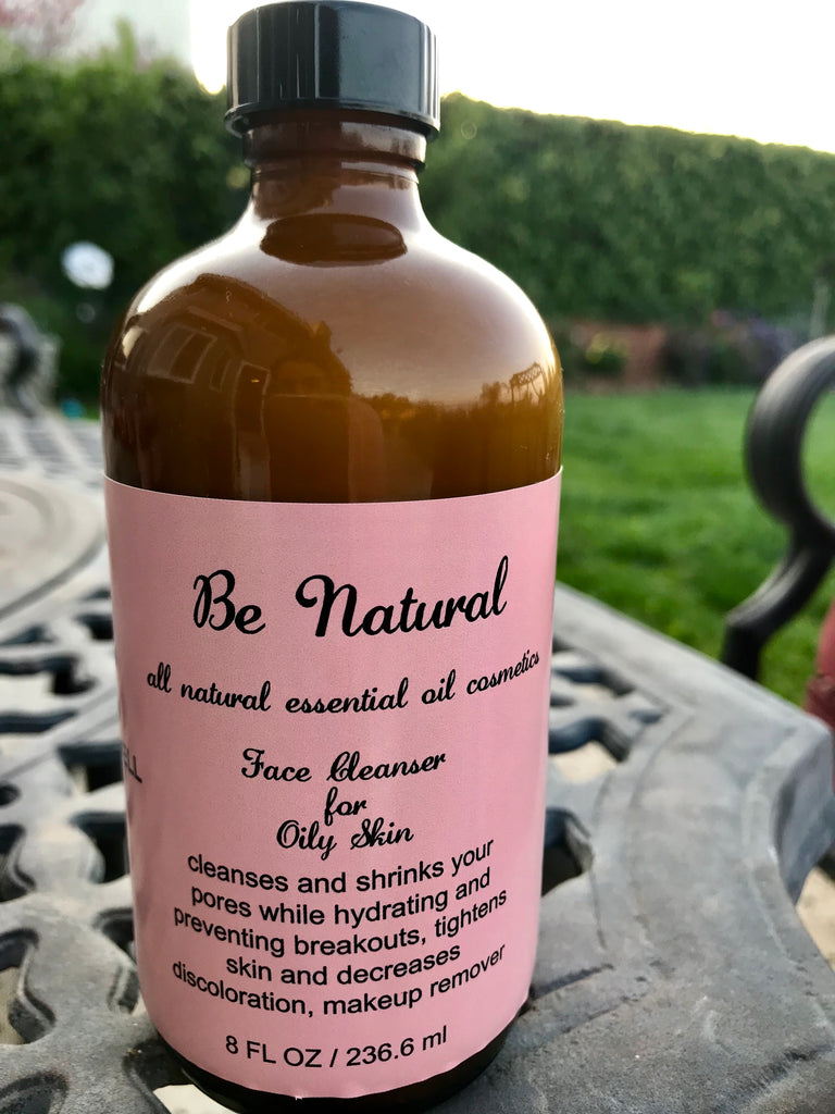 Face Cleanser/Makeup Remover/Oily Skin - Be Natural Cosmetics
