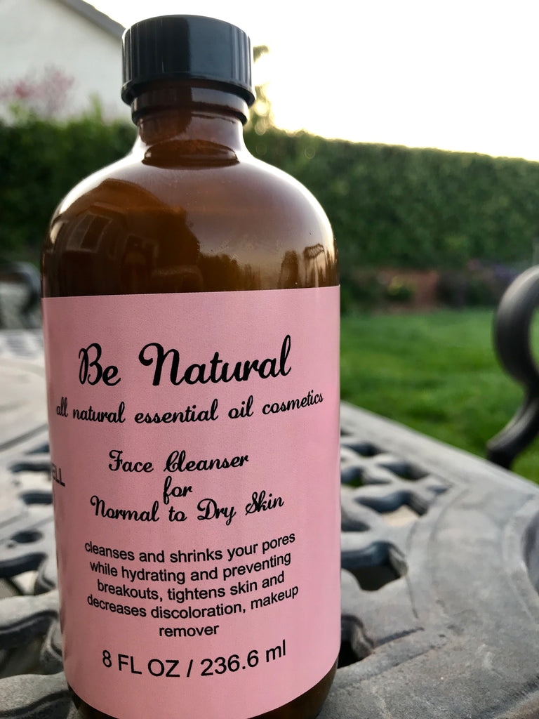 Face Cleanser/Makeup Remover/Normal-Dry Skin - Be Natural Cosmetics