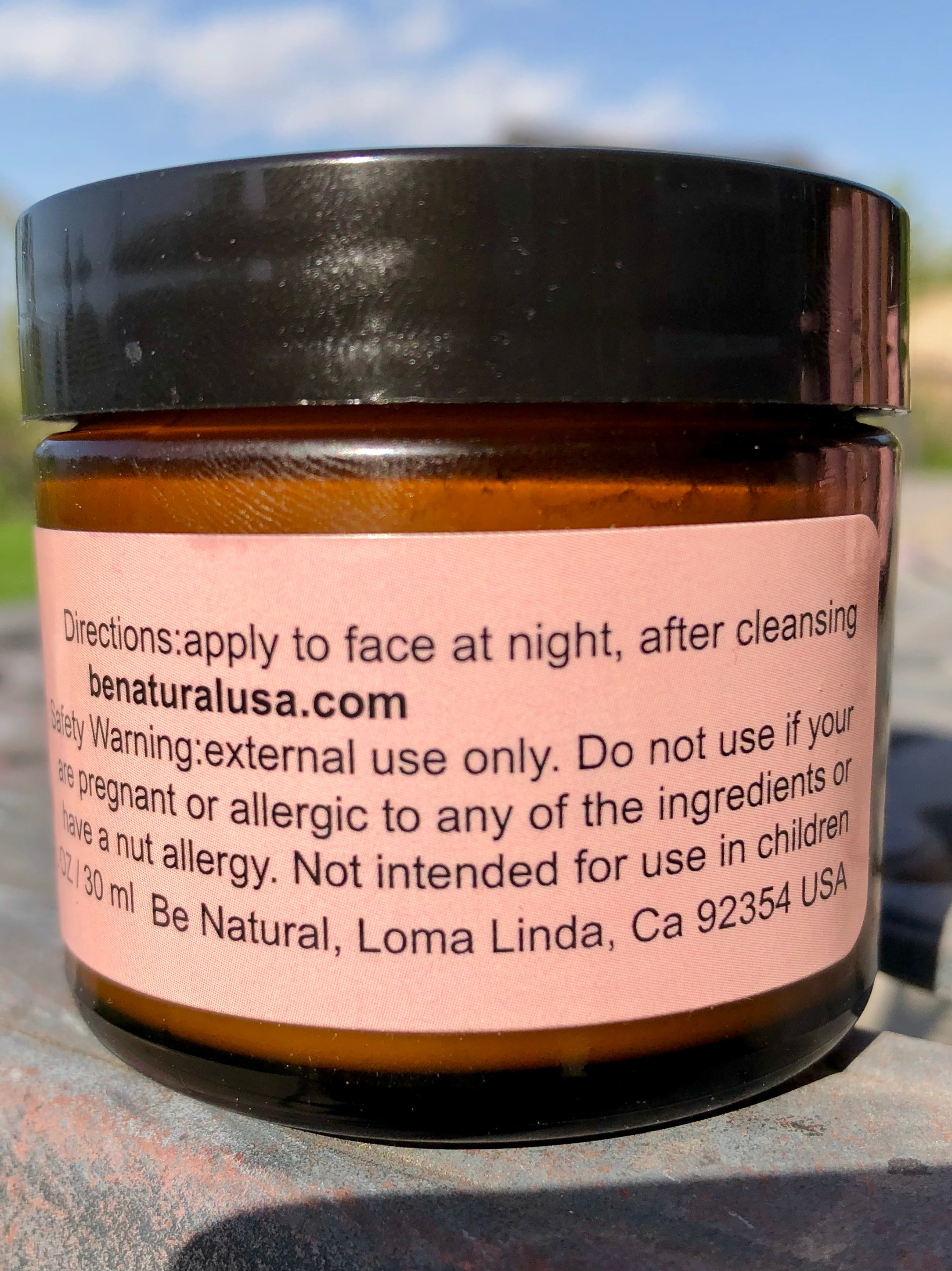 Skin Repair Butter/Oily Skin - Be Natural Cosmetics