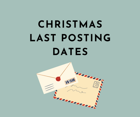 Christmas Last Posting Dates | Bowler and Betty
