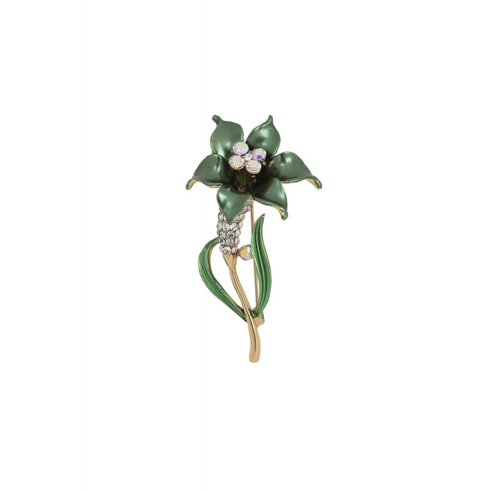 Hollie Flower Brooch - Bowler Vintage