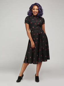 Mary Grace Cherry Swing Dress