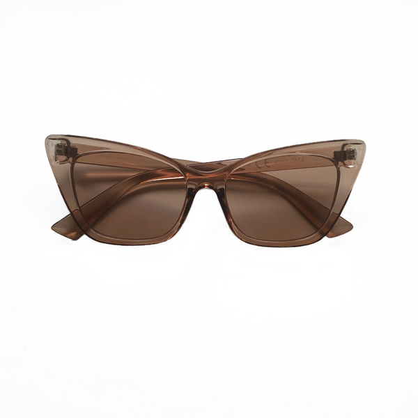 Selma Cat Eye Sunglasses - Latte