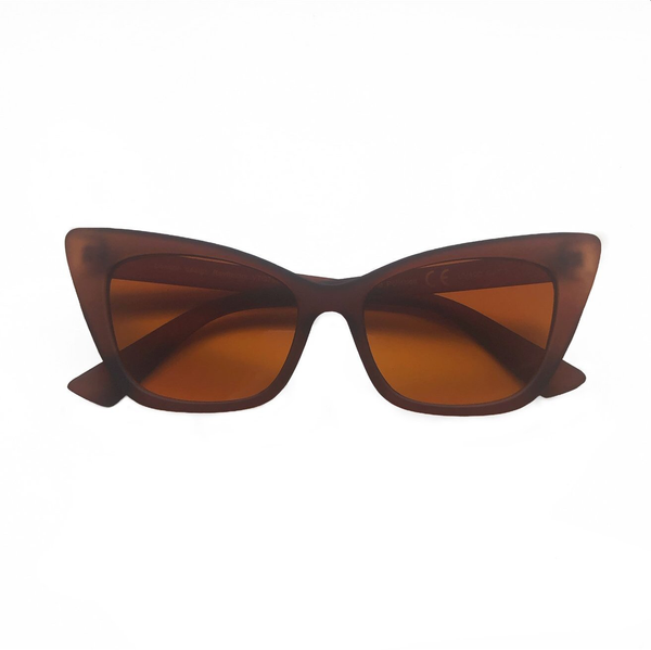 Selma Cat Eye Sunglasses - Brown