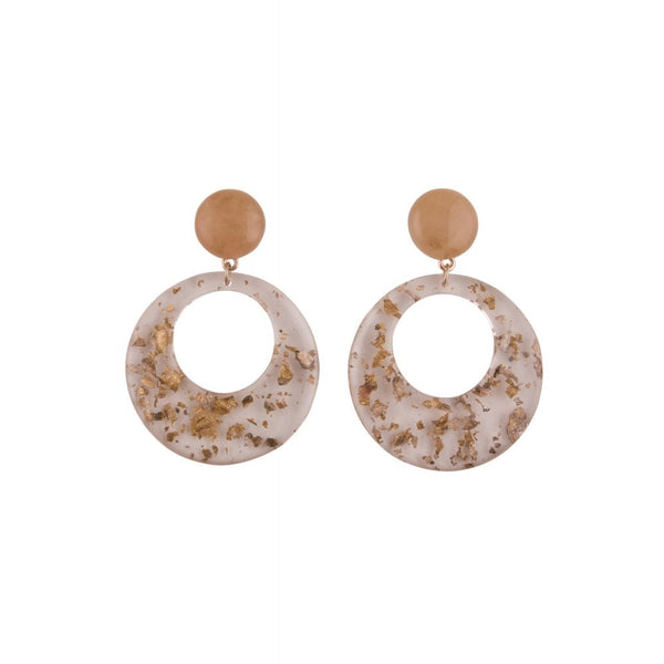 Cam Hoop Earrings - Bowler Vintage