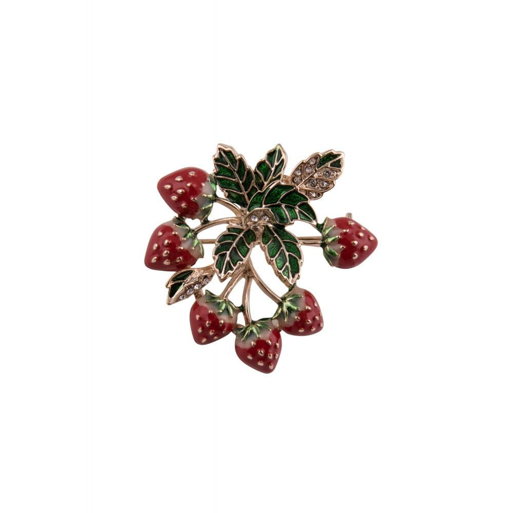 Vintage Berries Brooch