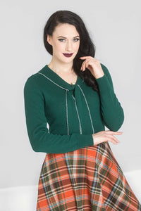 Connie Jumper - Green - Bowler Vintage