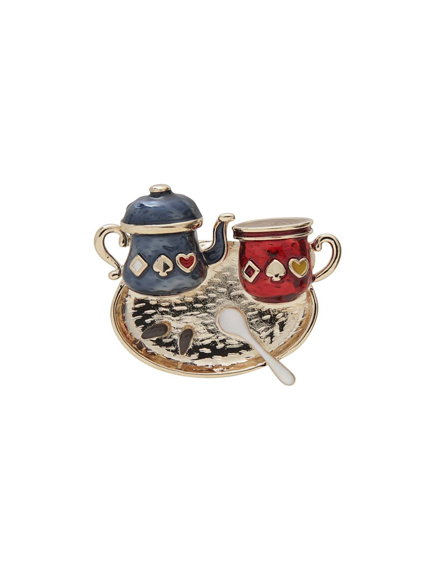 Tea Time Brooch