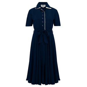 Mae Dress - Navy