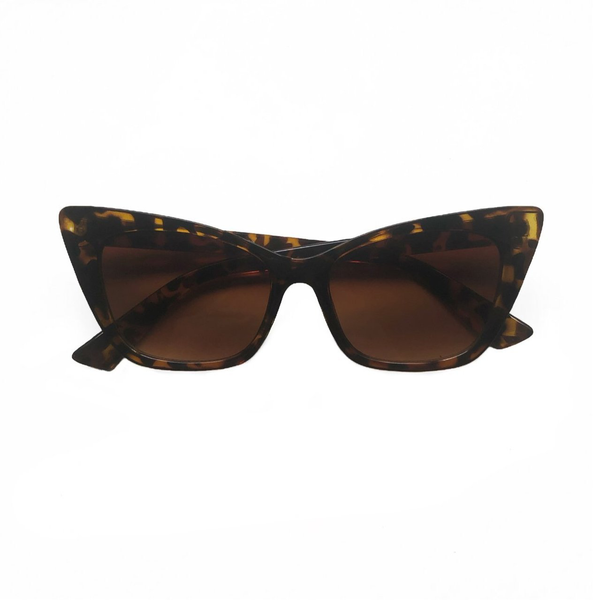 Selma Cat Eye Sunglasses - Tortoiseshell