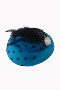 All A Dream Fascinator - Bowler Vintage