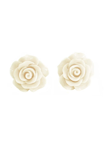English Rose Studs - Bowler Vintage
