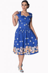 TUTTI FRUITY SLEEVES DRESS