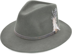 Fedora with Strap