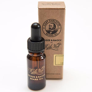Ricki Hall's Booze & Baccy Beard Oil 10ml - Bowler Vintage