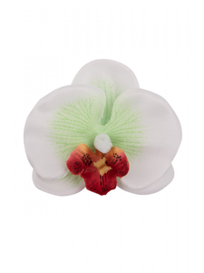 Cute Orchid Hair Flower - Green - Bowler Vintage