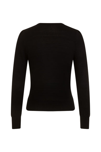 Connie Jumper Black Was £45 Now £35