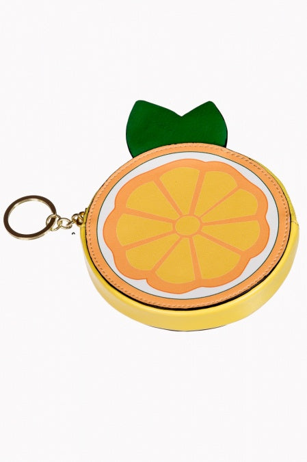 Orange in the Sun Purse - Bowler Vintage