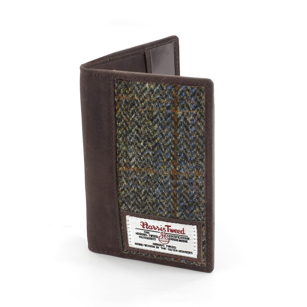 Carloway Harris Tweed Passport Holder