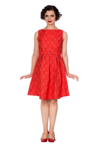 Florida Jacquard Dress - Bowler Vintage