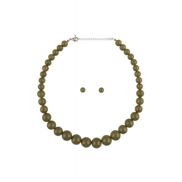 Natalie Bead Necklace Set - Bowler Vintage