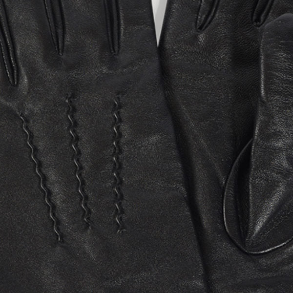 Men's Leather Gloves - Black