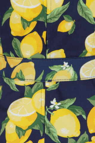 Lemon Swing Dress