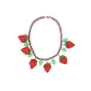 LILY 40S STRAWBERRY NECKLACE