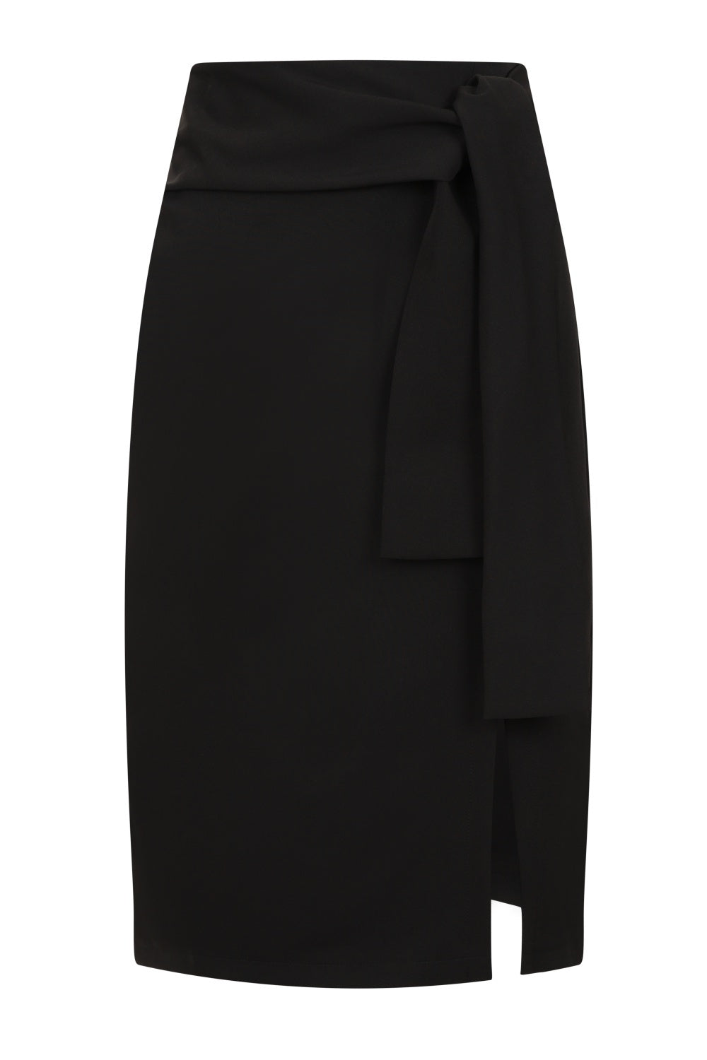 Bow Skirt Black