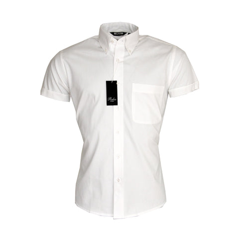 Oxford Short Sleeve Shirt - Bowler Vintage