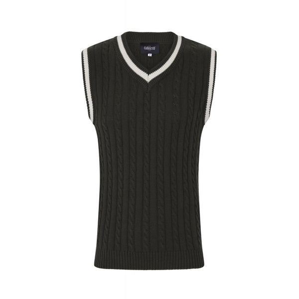 ALEX PLAIN KNITTED TANK TOP - Bowler Vintage