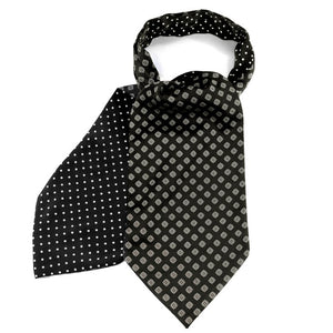 Black Reversible Cravat