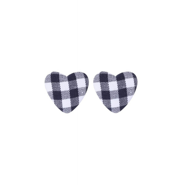 Bobby heart Studs - Bowler Vintage