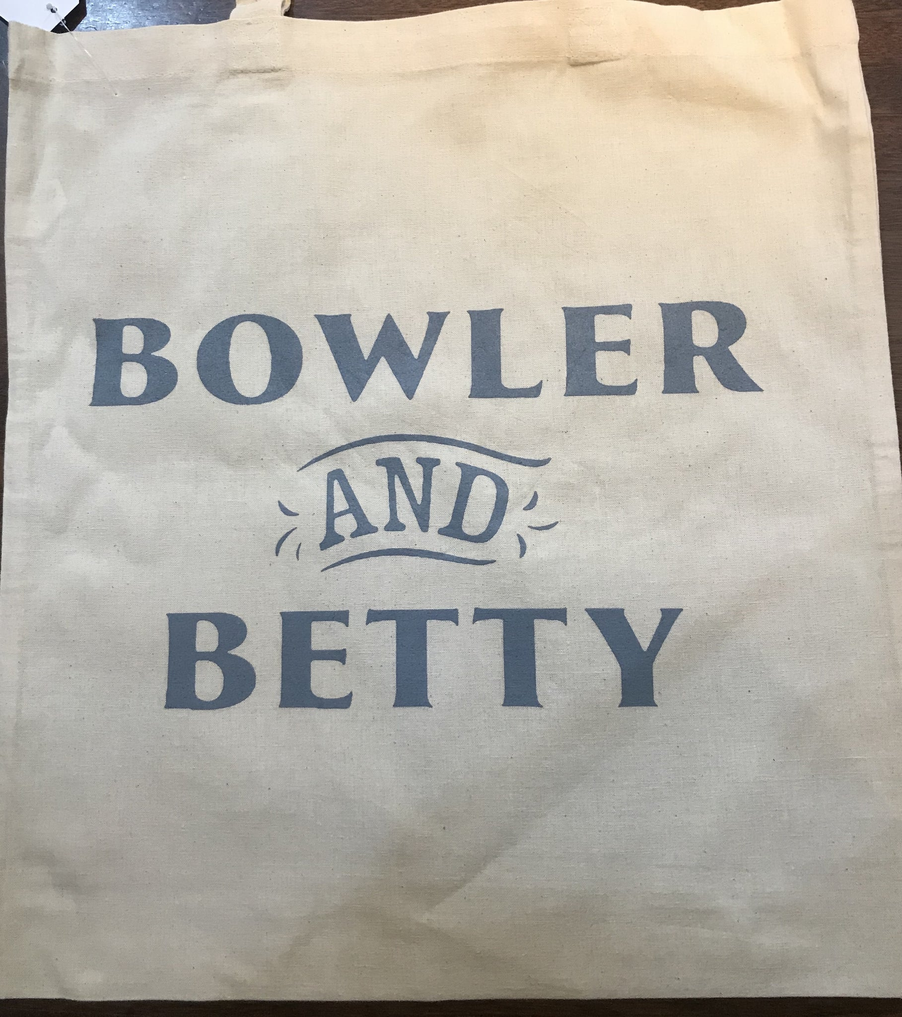 Bowler and Betty Tote Bag