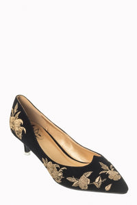 Magic Dance Shoes - Black - Bowler Vintage