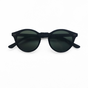 Charlie Round Sunglasses - Black